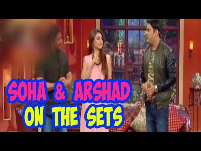 Comedy Nights with Kapil - Soha Ali Khan & Arshad Warsi on the set with Kapil Sharma