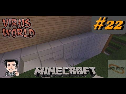 ► Minecraft - Virus World #22 ★ Platten verlegung ★ (DEUTSCH)(HD)