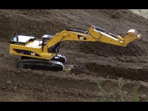 Caterpillar excavator rc