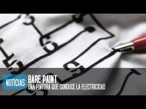 Pintura conductora de electricidad, Bare Paint