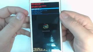 Samsung Galaxy S5 G900F How To Reset Como Restablecer