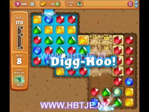Diamond Digger Saga level 5