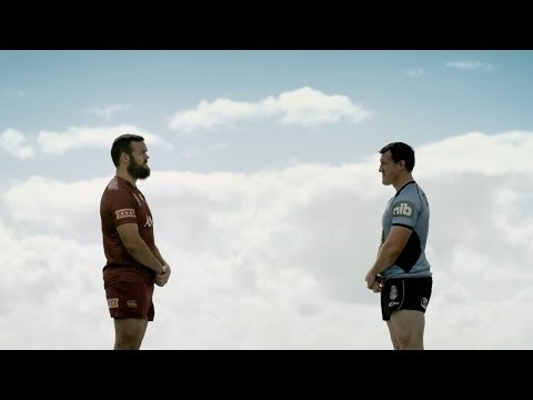 Paul Gallen and Nate Myles fight...for men to talk about their feelings