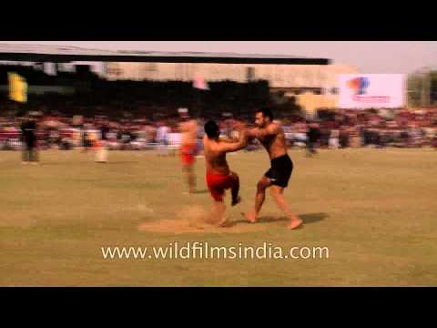 Kabaddi traditional rural Indian sport - Ludhiana, Punjab