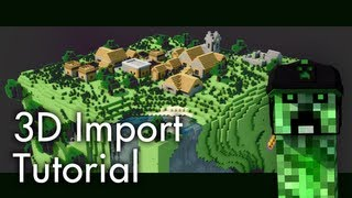 [Tutorial] How To Import A Minecraft World Into Cinema 4D