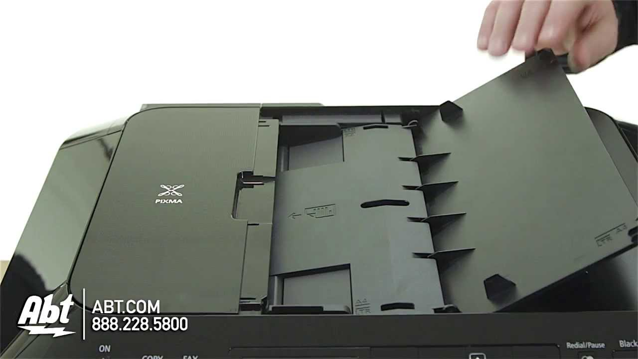 Canon Wireless Office Printer - MX922 Features - YouTube