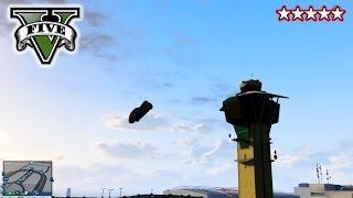 GTA 5 Airport TRICKS, STUNTS & JUMPS!!! GTA 5 Funny