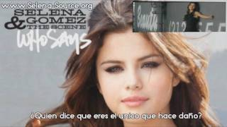 Video Selena Gomez & The Scene Who Says (En Español