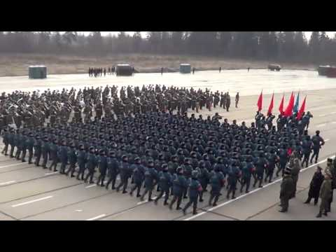 First Victory Day Parade Rehearsal, 2014
