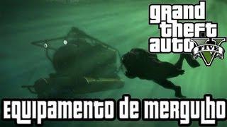 """GTA 5 Equipamento De Mergulho Localização """"GTA V"""