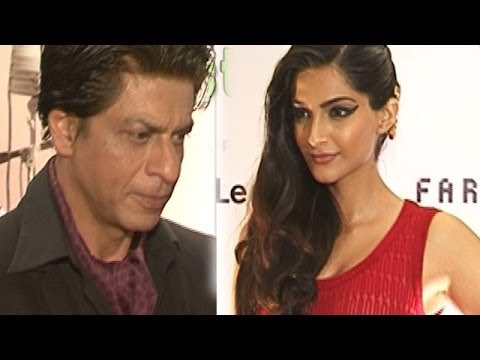 Sonam Kapoor to be paired opposite Shahrukh Khan