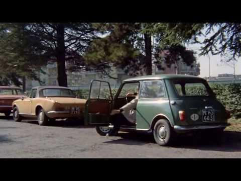 Gastone Moschin in MILANO CALIBRO 9 - Mini Innocenti verde