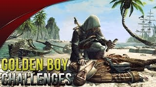 Assassin's Creed 4 Golden Boy Abstergo Challenges