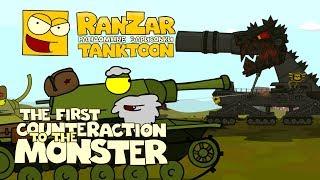 Tanktoon - Prvý útok na monštrum