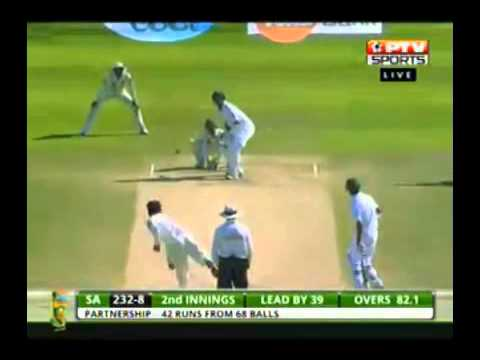 Pak vs South Africa October 2013 Abu Dhabi Final Day Clips