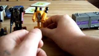 G1 Transformers Stunticons / Menasor