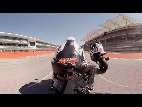 GoPro VR: Track Day Fun at Circuit of the Americas on the BMW S1000RR in 4K