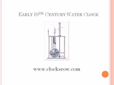 a brief history of clocks from You've heard of the book a brief history of time by stephen hawking (who,  incidentally, is on our board of sponsors) well, this is a brief history of the.