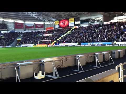 Just before kick-off - Hull City vs Chelsea 12/1/14