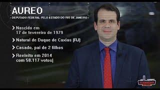 Perfil do Parlamentar: Deputado Aureo (RJ)
