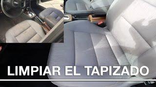 Como limpiar el tapizado de un coche
