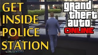 GTA 5 Online How To Glitch Inside The Police Station