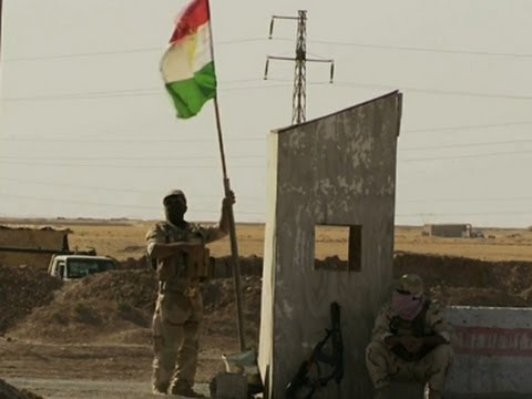 Kurdish Border Forming in Northern Iraq