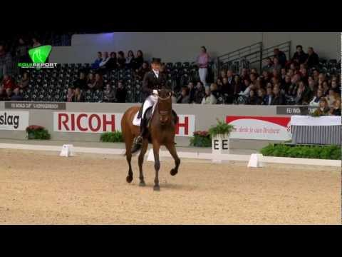 Edward Gal - Interfloor Next One #1 CDI-4* GP Freestyle Rabobank prijs @Indoor Brabant.