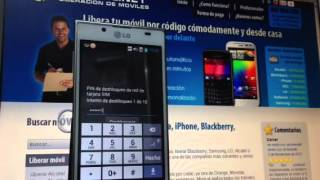 Liberar LG P700 Optimus L7 De Orange, Vodafone O Movistar