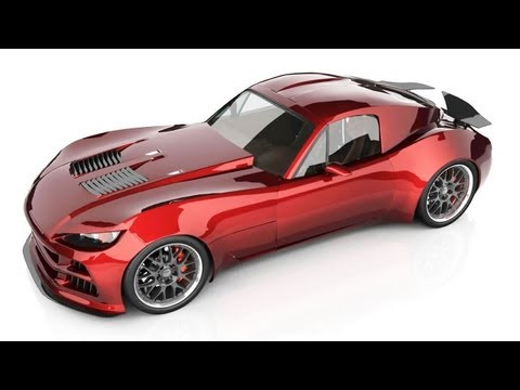 Finally an Update lots going on - Bailey Blade XTR Concept Car Design - Part 82
