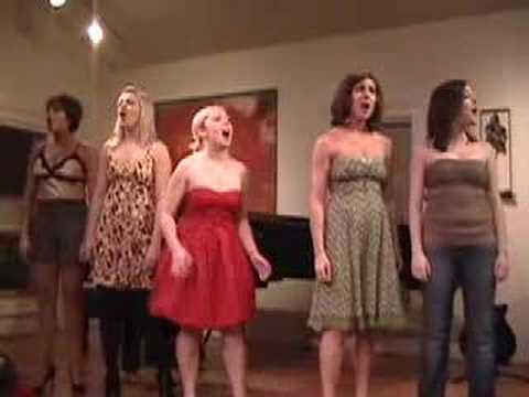 All Girl Band U of M Musical Theatre Majors
