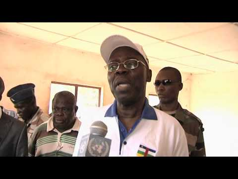 Prime Minister Andre Nzapayeke Disarmament Soundbite (French)- Central African Republic