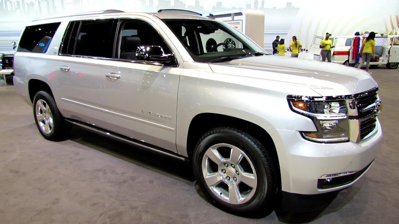 Chevy Suburban 2014 Walkaround