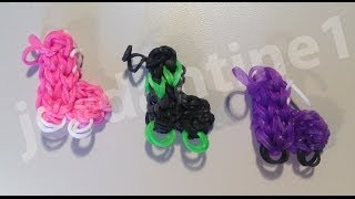 How To Make A New Roller Skate Charm Rainbow Loom, Cra-Z