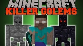 Minecraft: KILLER GOLEMS (MOB KILLING GOLEMS!) Utility