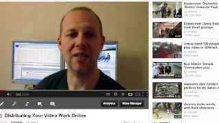 How to distribute your video online