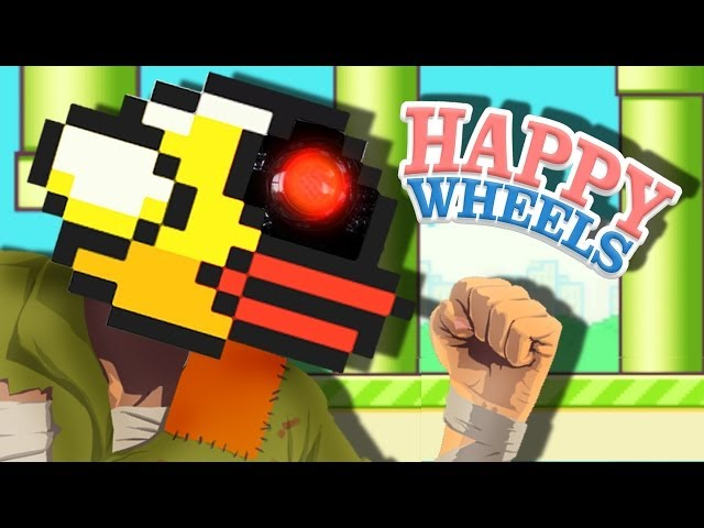 FLAPPY BIRD ROBOT - Happy Wheels