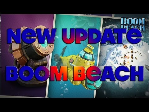NEW Boom Beach Update - Submarines, Graphic Changes, Snow Islands and More!
