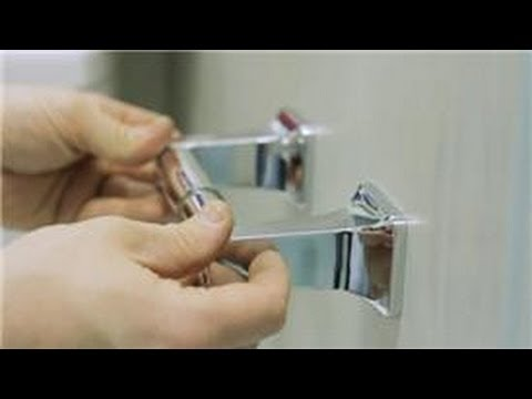 toilet repair how to repair a toilet roll holder youtube. Black Bedroom Furniture Sets. Home Design Ideas