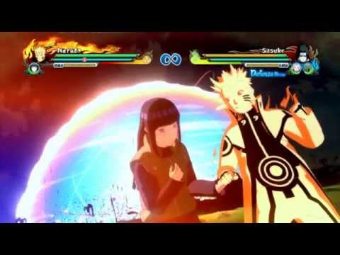 Chiêu thức kết hợp đồng đội trong Naruto Storm Revolution / All Combo Ultimate Jutsu