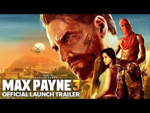 Трейлер запуска Max Payne 3.