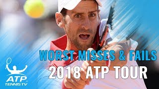 Worst Misses & Fails: 2018 ATP Tour