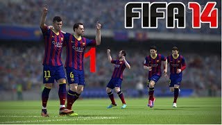ALIEN FIFA 14 CZ Gameplay EP.1 Real Madrid Vs. FC