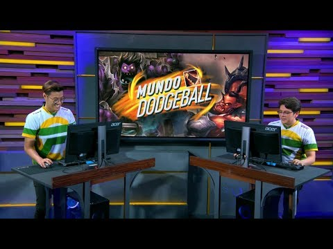 NA LCS Tonight W9D2: WiildTurtle & JayJ play Mundo Dodgeball, Sion Spedeway and answer questions!