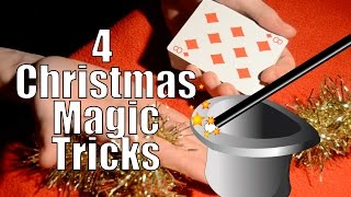 Amazing Christmas Magic Tricks