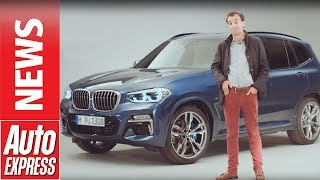 2017 BMW X3 revealed: full details on BMW's new mid-size SUV. Auto Express.