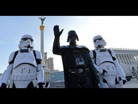 Darth Vader new president of Ukraine