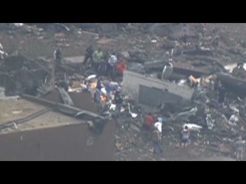 School takes direct hit from Oklahoma tornado
