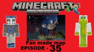 MineCraft xbox 360 edition: Fan made map - Episode 35