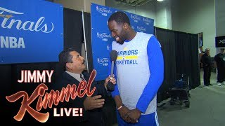Guillermo vs LeBron James at 2017 NBA Media Day